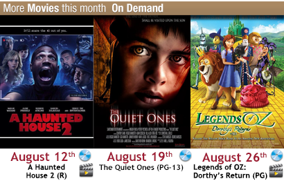 New movie releases on demand